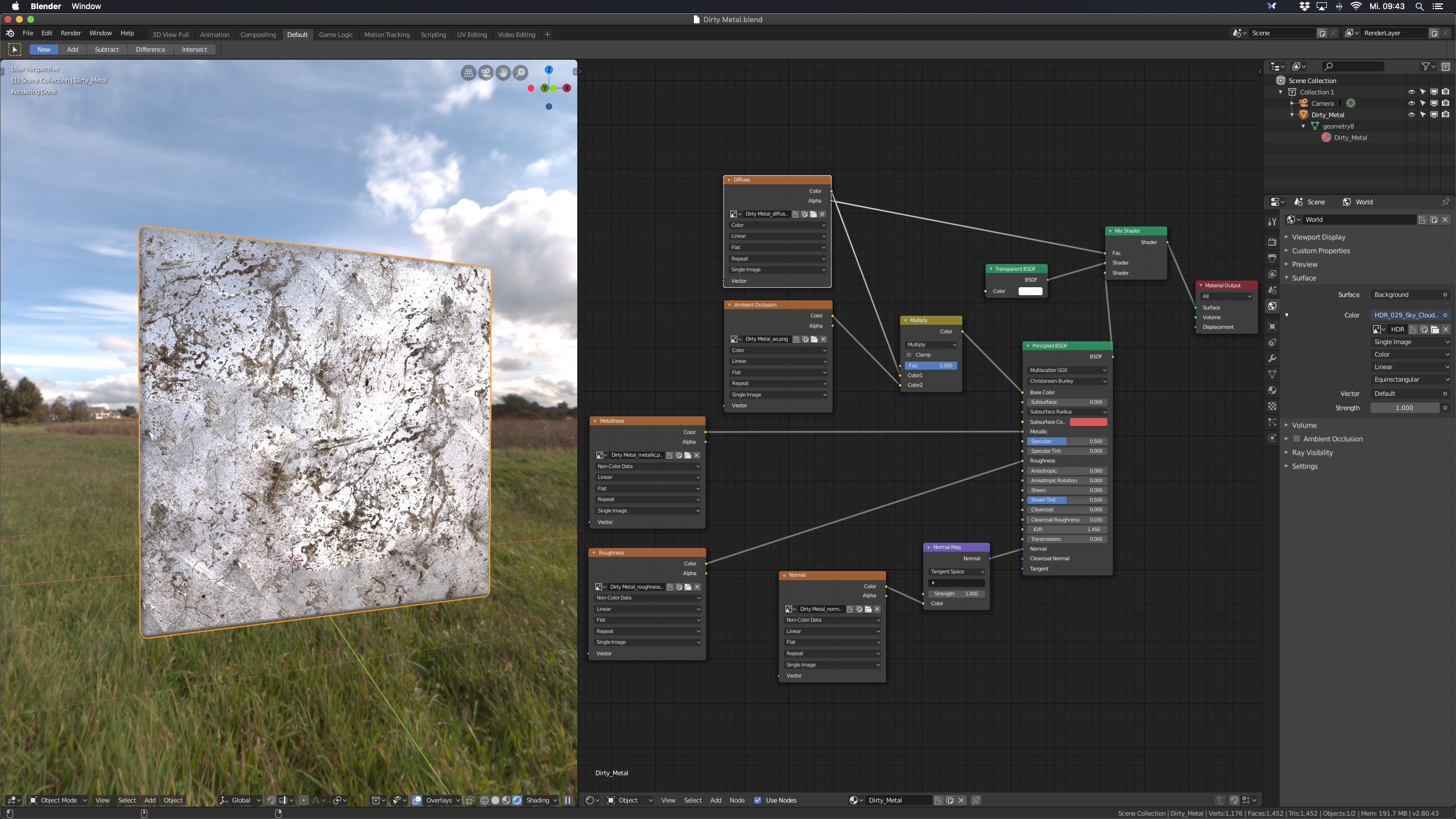 PBRtist – The easy way to create 3D materials
